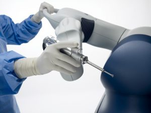 Surgeon-controlled mako Robotic-Arm Assisted Surgery System